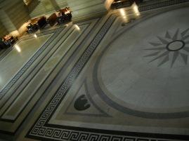 Sala de los Pasos Perdidos. Palacio de Justicia. Bruselas.