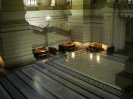 Planta baja interior Palacio de Justicia.