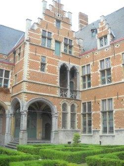 Juzgados en Malinas. Palacio de Margarita de Austria.